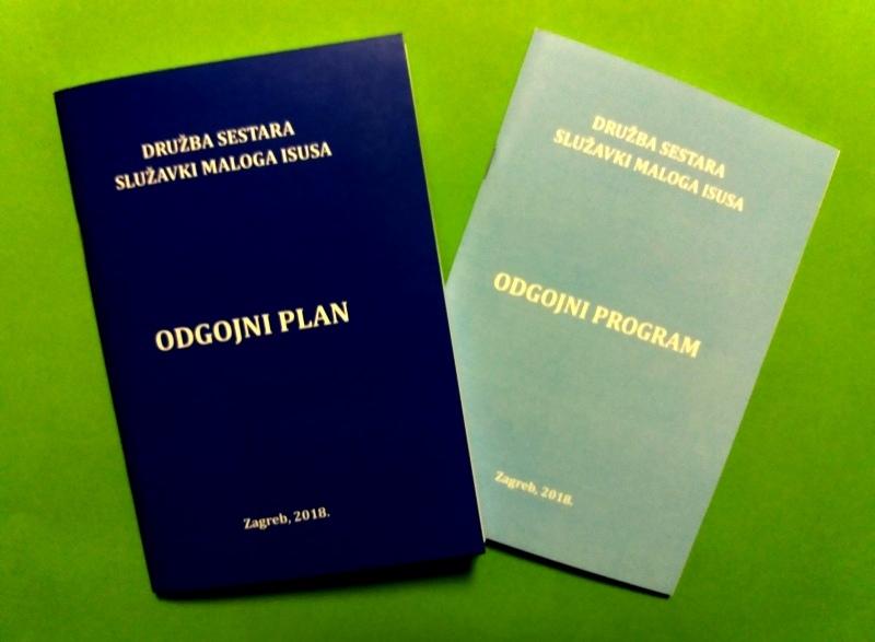 Novi Odgojni plan i Odgojni program Družbe