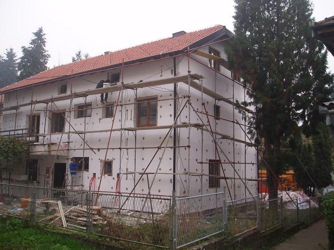 Obnova samostana 2009.