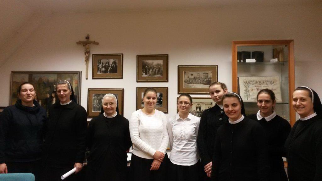 Formacija u Družbi sestara Služavki Maloga Isusa