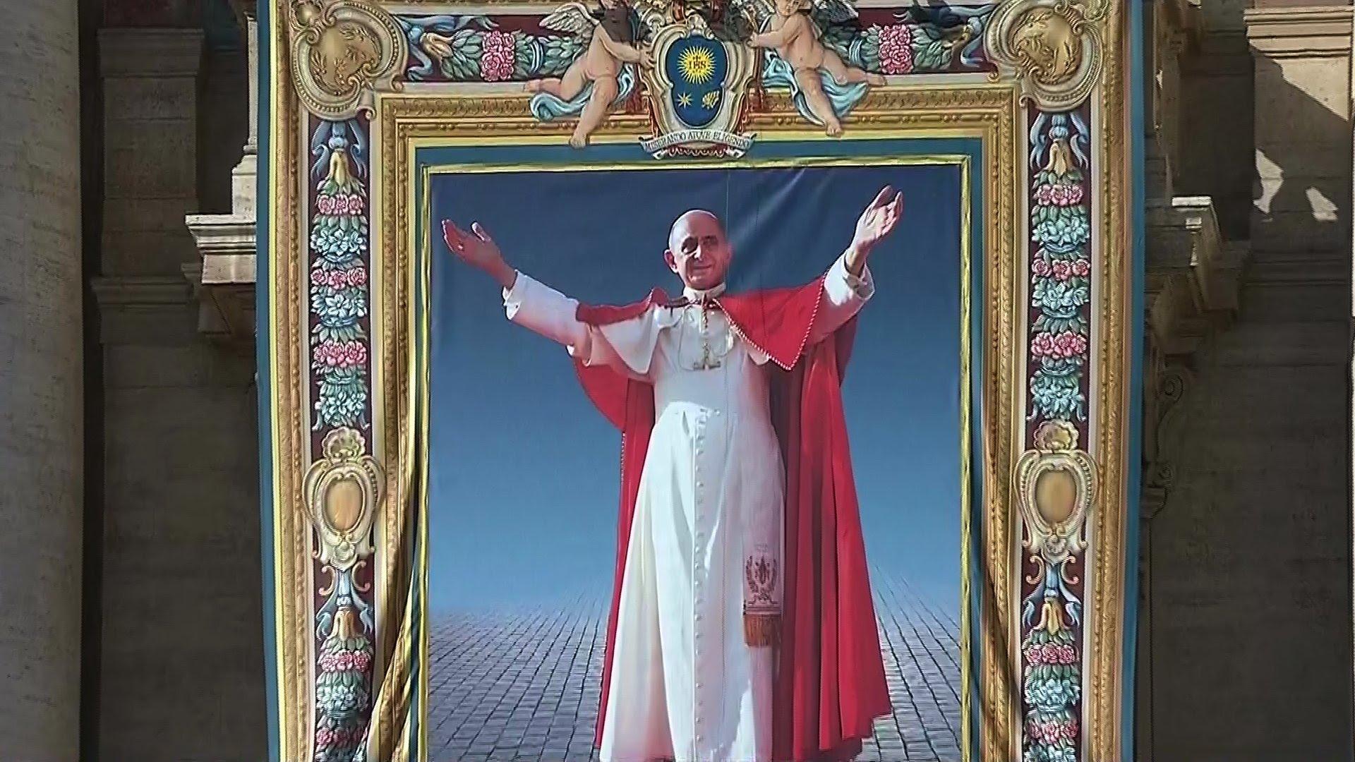Kanonizacija pape pavla vi