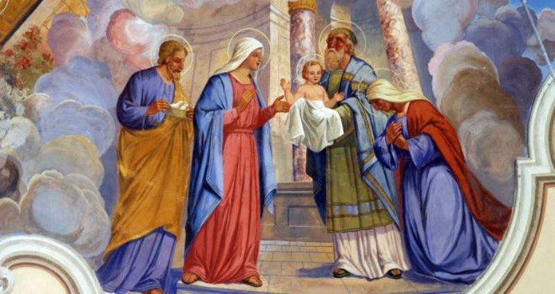 Prikazanje u hramu