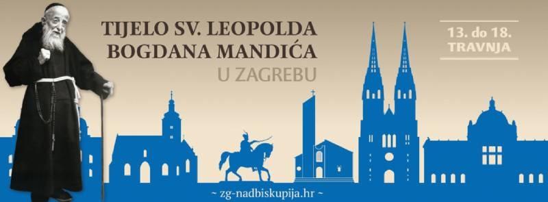 Sveti Leopold Bogdan Mandić u Zagrebu