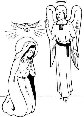 Navještenje Gospodinovo - Patron Društva Prijatelja Maloga Isusa