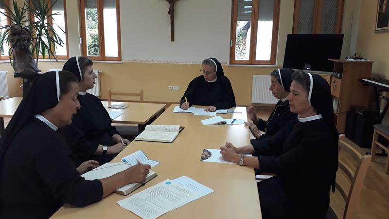 Susret sestara Pročelnica i članica Povjerenstava Provincije BZBDM
