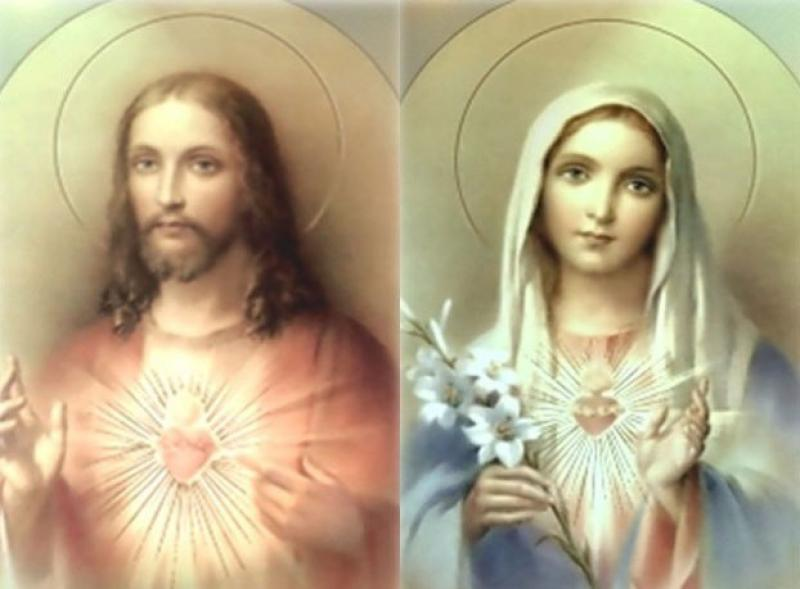 Presveto srce Isusovo i Marijino