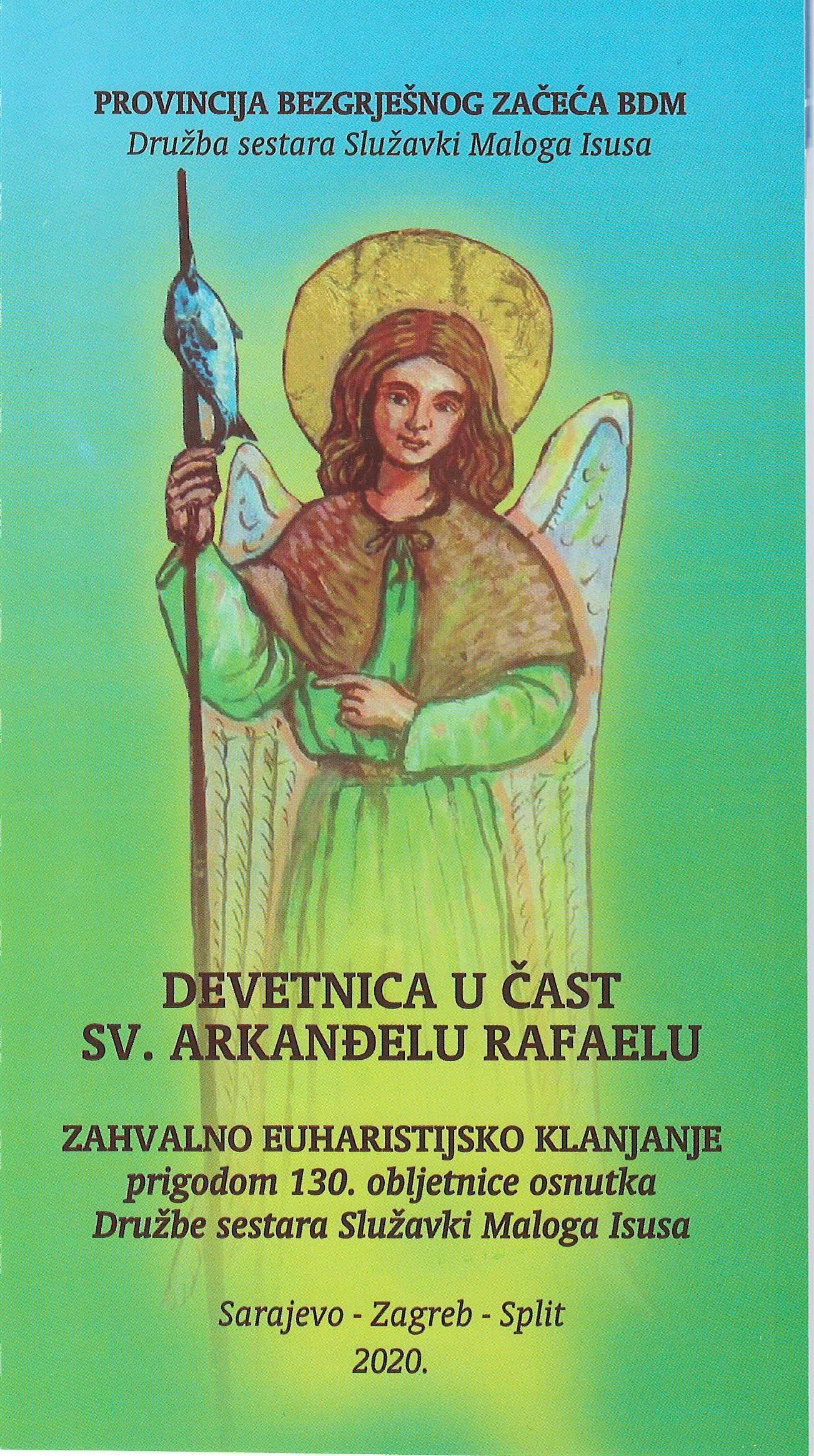 Devetnica u čast sv. Arkanđelu Rafaelu