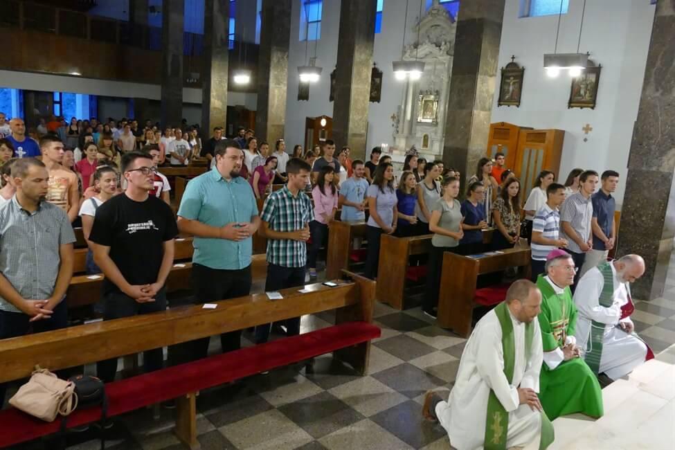 Mons. Barišić predvodio misno slavlje za mlade volontere iz cijele Hrvatske
