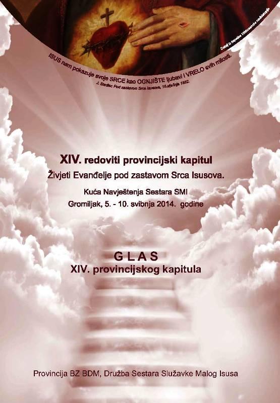 Glas XIV. provincijskog kapitula