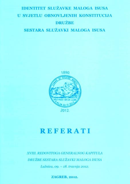 Referati XVIII. redovitoga generalnog kapitula