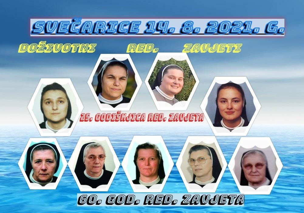 """Svečarice splitske Provincije  """"Sv. Josipa"""